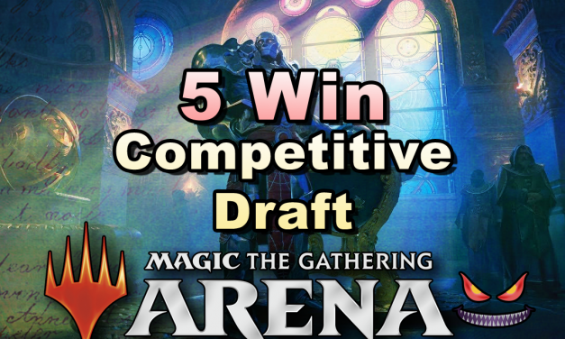5-win Competitive Draft Deck Looks Like in MTGA